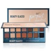 BEAUTY GLAZED Paleta de sombras de ojos Eye Shadow Make Up Impermeable de larga duración Fácil de usar Eyeshadow Palette Cosmetics