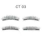 4 Stücke 3D Magnetische Wimpern Handgemachte Gefälschte Wimpern Magnete Natürliche Falsche Wimpern Make-Up Verlängerung