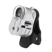 ポータブルLEDデジタル60X顕微鏡