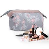 Bolsa de cosméticos de gran capacidad y bolsa de cosméticos