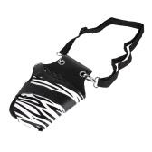 PU-Leder-Haar-Scheren-Holster-Frisur-Beutel-Halter-Beutel für Haar-Stylist mit Niet-Klipp-Taillen-Schulter-Gurt
