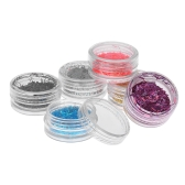6pcs Long Bar Glitter Shimmer Nail  Sticker Onion Jewelry Shinny Manicure Nail Art Decorations