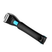 Maquinilla de afeitar posterior estirable de la máquina de afeitar eléctrica para el afeitado del pelo trasero del varón plegable