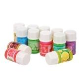 12 Botellas 3 ml de Aceites Esenciales de Plantas Naturales Perfumería Perfume Aceite Perfumado Para DIY Humidificador de Aromaterapia Uso Perfume Olor Aceite Purificante de Aire