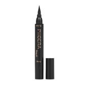 PHOERA Double Head Liquid Eyeliner Pen Stamp Triangle Seal Black Pencil Makeup Cosmetics Tool Waterproof
