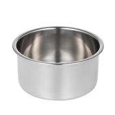 Нержавеющая сталь Бритвенная чаша Мужская мыльная чашка Бритвенная чашка для мыла Мужская чистка для лица Мыло для бритья