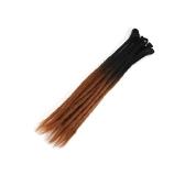 Crochet trenzado cabello Jumbo trenzas Moda mujeres gris sintético Ombre color de degradado