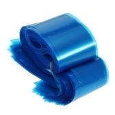 100шт Клип шнур Рукава Сумки Одноразовые чехлы для татуировки голубой пластик