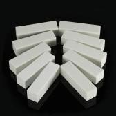 10個のバッファリングバッファブロックファイルアクリルペディキュアサンディングマニキュアネイルアートツール