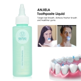 ANJIELA Toothpaste Liquid 90ml Deep Cleaning Teeth Whitening Toothpaste Liquid Natural Mouth Wash Water