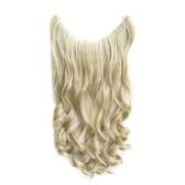 One Piece No Clip Hair Extensions Длинные вьющиеся волосы