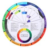 Tattoo Pigment Color Wheel Chart Color Mix Guide Supplies for Permanent Eyebrow Eyeliner Lip Tattooing