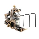 Máquina de tatuaje profesional del tatuaje del motor del dragón de fundición de la bobina del tatuaje ametralladora sombreador y del trazador de líneas máquina del tatuaje del cuerpo de la máquina