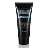 60gマボックスブラックヘッドリムーバーマスクアクティブナチュラルチャコールブラックマスクブラックヘッド&アクネリムーバークレンジングマスク男性と女性用