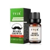 TYJR 10ml Óleo essencial de crescimento da barba