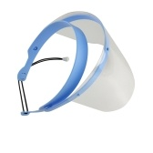 Professional Dental Face Shield for Dentist Protective Detachable 1 Frame with 10 Visor Films Anti-Fog Dustproof