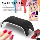 12W LED Nail Dryer Machine Mini Nail Lamp Fingernail Toenail Gel Curing Lamp Professional Nail Gel Equipment for Nail Salon White