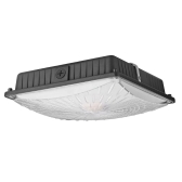 65W 8125LM Waterproof LED Canopy Ceiling Lighting Fixtures