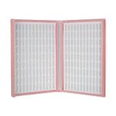 ddfe539b5f Professional 216/120 Colors White Nail Gel Polish Display Chart with Tips  Nail Polish Color