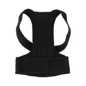 Corretivo de postura ajustável Back Support Brace Belt Back Posture Corrector Back Shoulder Correção de postura de apoio lombar para homens Tamanho da mulher S
