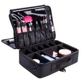 Estuche de cosméticos portátil organizador de maquillaje para mujer