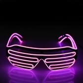 Vasos de plástico LED que destellan la lente
