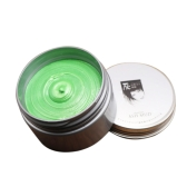 Pomadas descartáveis Pele de uma vez Styling Modelando Coloring Wax Hair Dye Mud para mulheres Homens