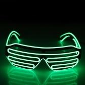 Plástico LED Óculos Piscando Óculos