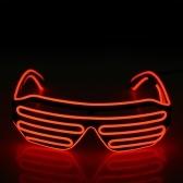 Пластиковые светодиодные очки Мигающие очки