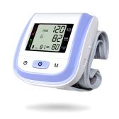 Monitor de pressão sanguínea digital de pulso LCD digital de cuidados de saúde
