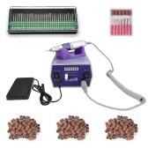30000r herramientas eléctricas del removedor del esmalte de uñas herramienta del clavo del clavo equipo del arte del clavo manicura pedicura archivos