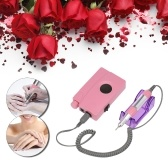 Electric Nail Drill Machine Kit Professional Nail Polisher Set