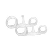 1 Para Zehen Separatoren Hallux Valgus Überlappende Korrektur Trennung Spacer Yoga Hammer Zehenspanner Silikon