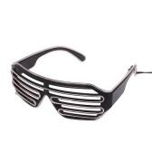 Plastik-LED-Gläser blinkende Brille