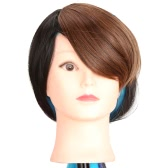 ファッションの女の子の女性斜めバング フリンジ髪の拡張子は傾斜のかつら