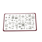 ネイル アート プリンター板画像プリンター鋼板爪パターン素敵な動物のブランド図面装飾的なオールラウンド パターン プリンター板をプレス