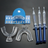 Equipamento dental clareamento Clareamento Dental sistema dente Whitener Whitening Gel Dental bandejas Home branqueamento Care Kit dentes ferramentas