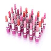 24pcs impermeável fosco batons labiais duradouro 12 cores