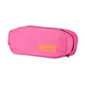 Multi função portátil dobrável sapato saco Nylon impermeável sapato bolsa 4 cores para viagens uso roupa bolsa saco cosmético organizador de produtos de higiene pessoal
