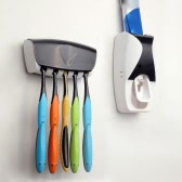 超便利な自動歯磨き粉ディスペンサー家族歯ブラシ ホルダー セット