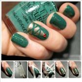 Anself 5Pcs Nail Autocollant Sticker Fil Bandes Manucure Française Créative Nail Art Tips