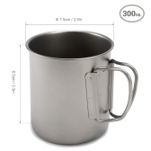 Ultralight Titanium Cup