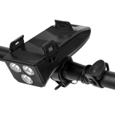 Multifunction 4 IN 1 Bike Light