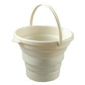Foldable Pail Bucket Portable Collapsible Bucket Camping Beach Fishing Multi-Purpose Bucket