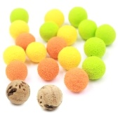 10mm Karpfen Fischköder Floating Ball Soft Bait Floating Beads Feeder