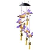 Солнечные колокольчики бабочки висячие колокольчики для дома, сада, двора, окон