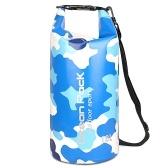 Водонепроницаемый мешок для сухих материалов, 5 л, мешок для сухого сжатия, сумка-ведро большой емкости, для кемпинга, плавания, плавания