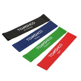 TOMSHOO Satz von 4 Übung Resistance Loop Bands Latex Gym Krafttraining Loops Bands Workout Bands Physikalische Therapie Home Fitness Physikalische Therapie