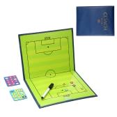 Plegable Entrenador de fútbol Coincidencia Tactical Table Coaching Junta Kits Magnético Tablero de Enseñanza Coach Tablero Portapapeles