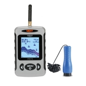 "LUCKY FF718D-Ice 2.2 ""LCD Portable Fish Finder Outdoor 200KHz / 83KHz Dual Sonar Frequency 100M Fish Detector per la pesca sul ghiaccio"